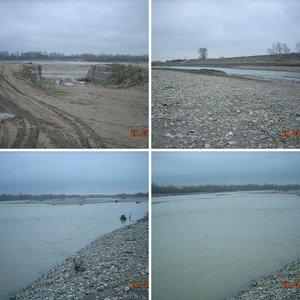 река Белая у г. Белореченска, март 2009