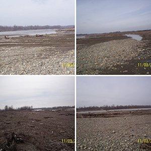река Белая у г. Белореченска, март 2010