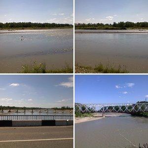 река Белая у г. Белореченска, июль 2008