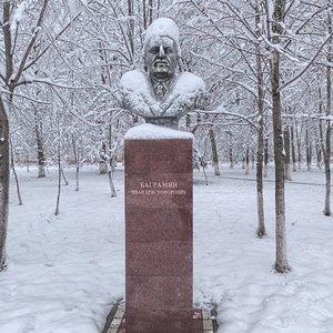 Бюст маршалу Советского Союза  И.Х. Баграмяну