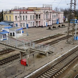Фото ж д вокзал станции белореченская